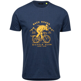 PEARL iZUMi Graphic Maglietta Uomo, navy heather speedy